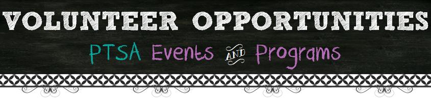 Chalkboard Volunteer Opportunities