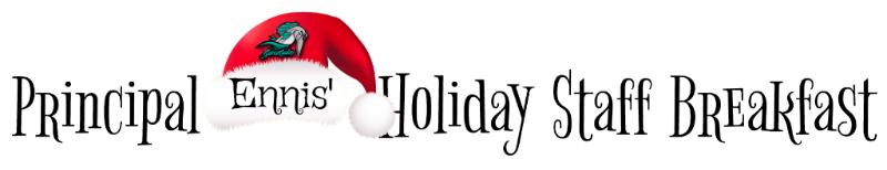 holidaybfast